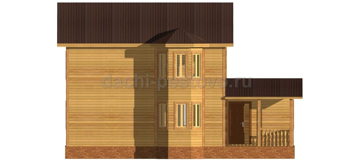 Брусовой дом №60 - Фото 2