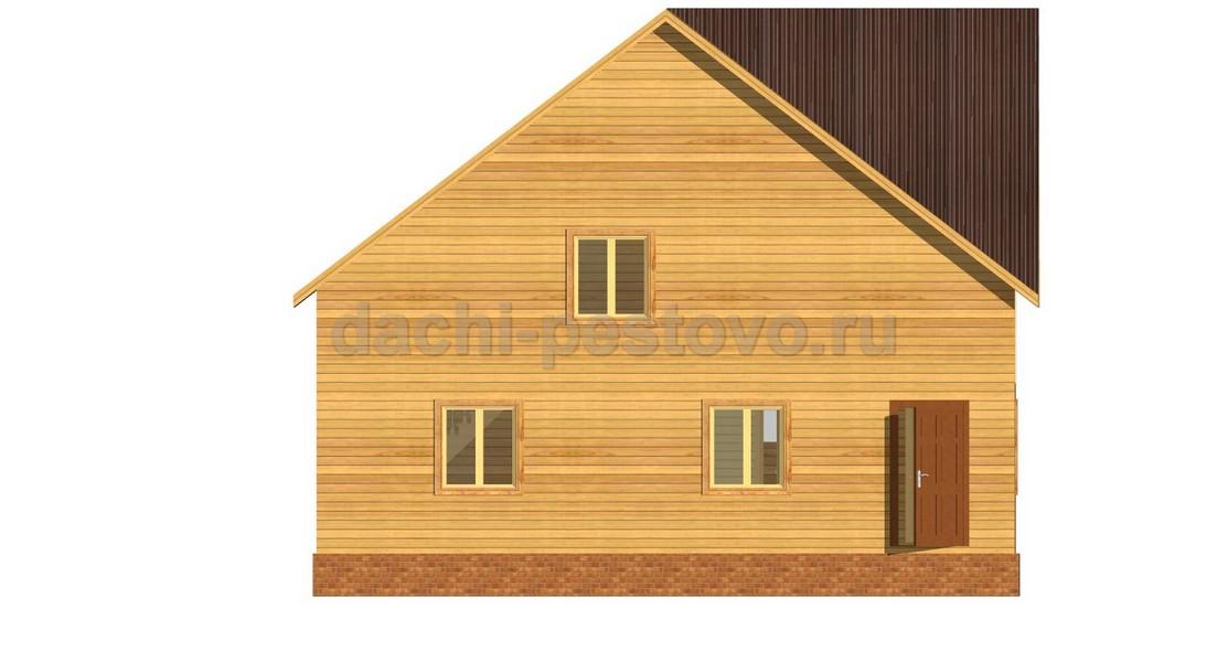 Брусовой дом №64 - Фото 2