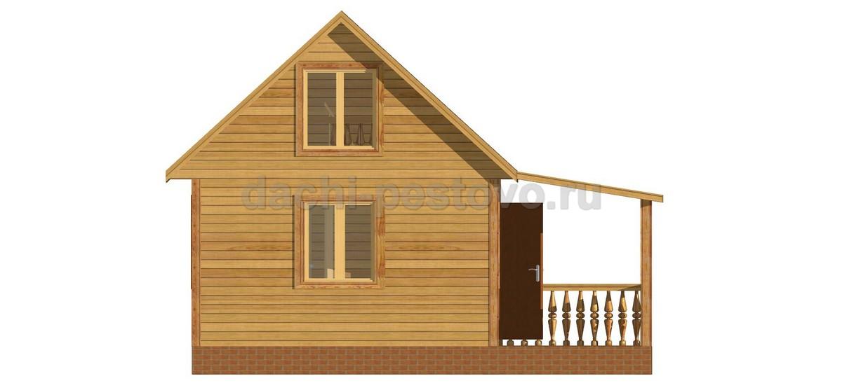 Брусовой дом №18 - Фото 2
