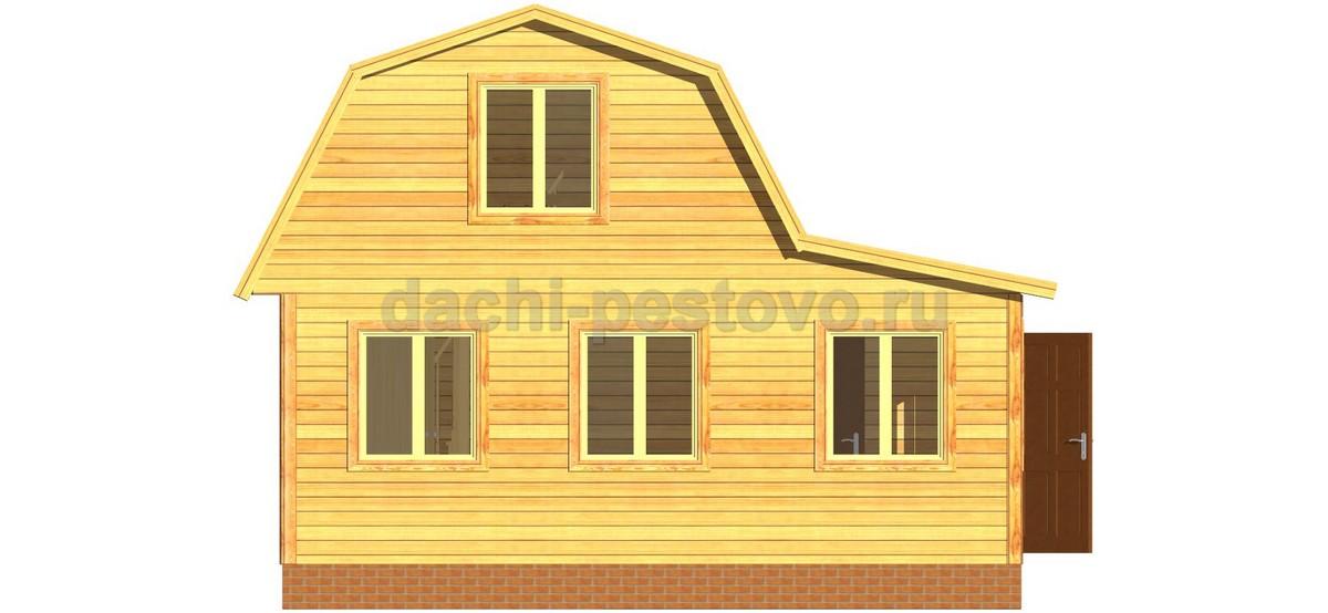 Брусовой дом №19 - Фото 2