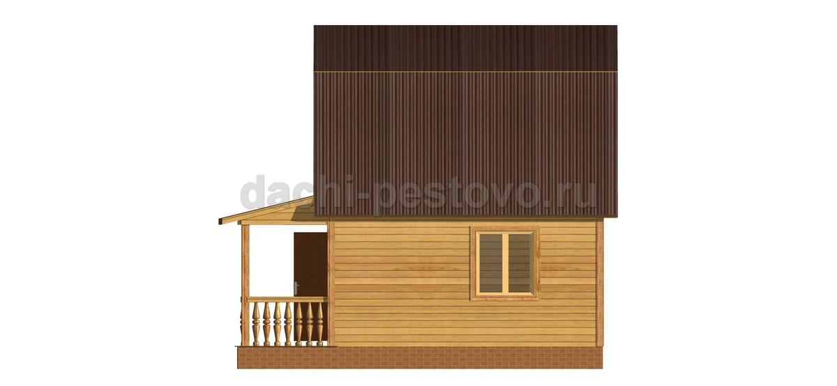 Брусовой дом №21 - Фото 3