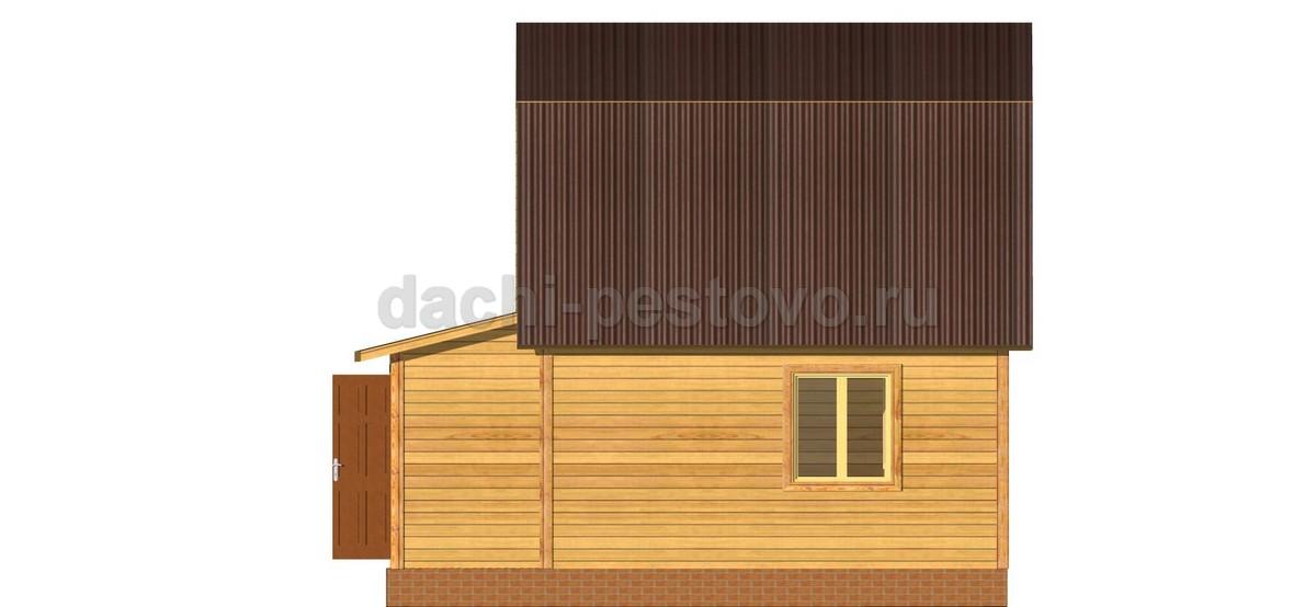 Брусовой дом №23 - Фото 3