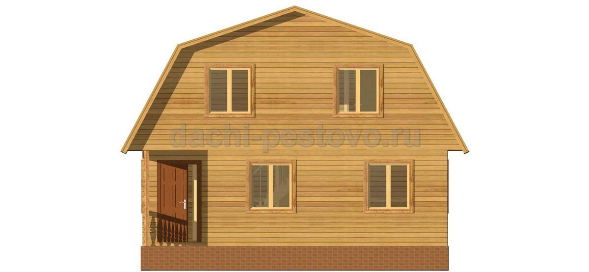 Брусовой дом №27 - Фото 3