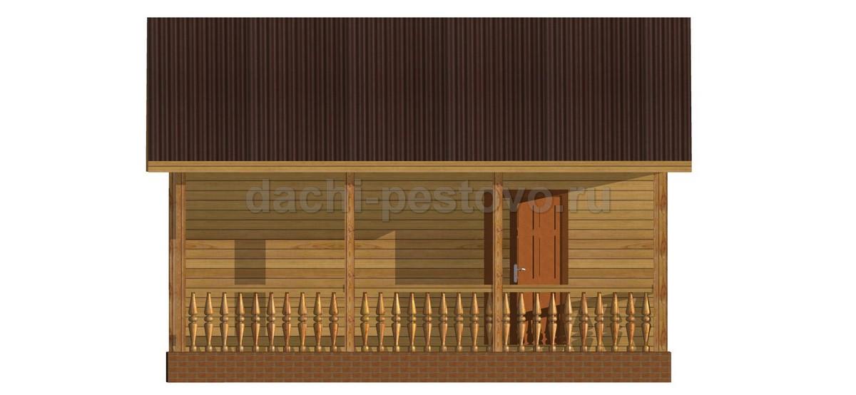 Каркасный дом №5 - Фото 3