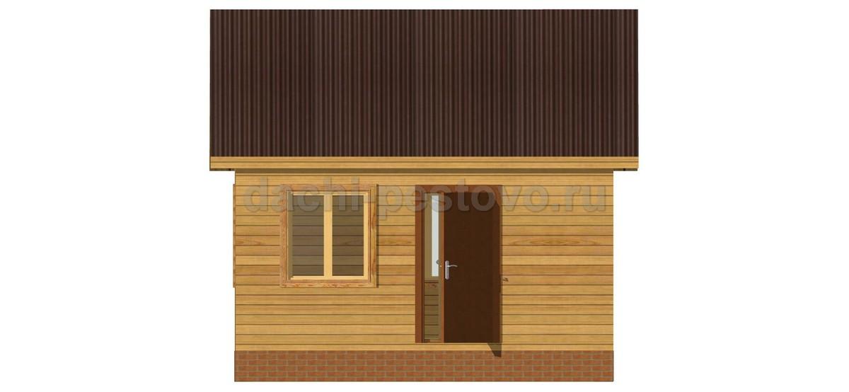 Каркасный дом №6 - Фото 3