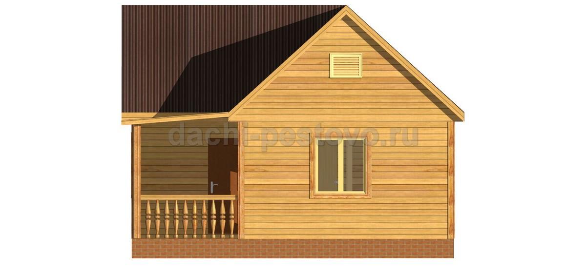 Каркасный дом №9 - Фото 3