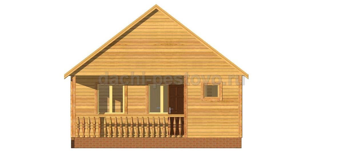 Каркасный дом №11 - Фото 3