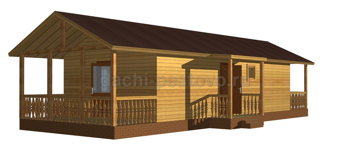 Каркасный дом №12 - Фото 3
