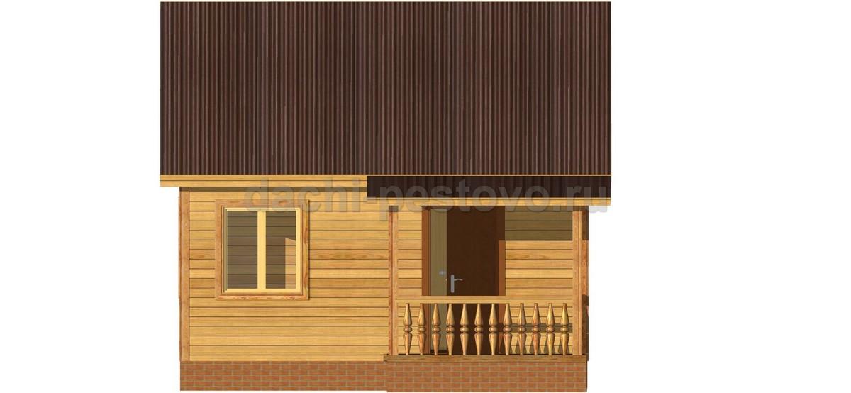 Каркасный дом №17 - Фото 3