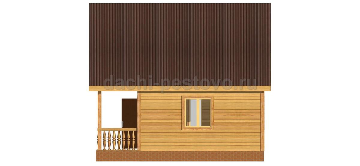 Каркасный дом №24 - Фото 3
