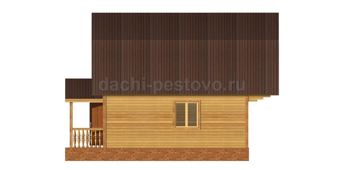 Брусовой дом №30 - Фото 3