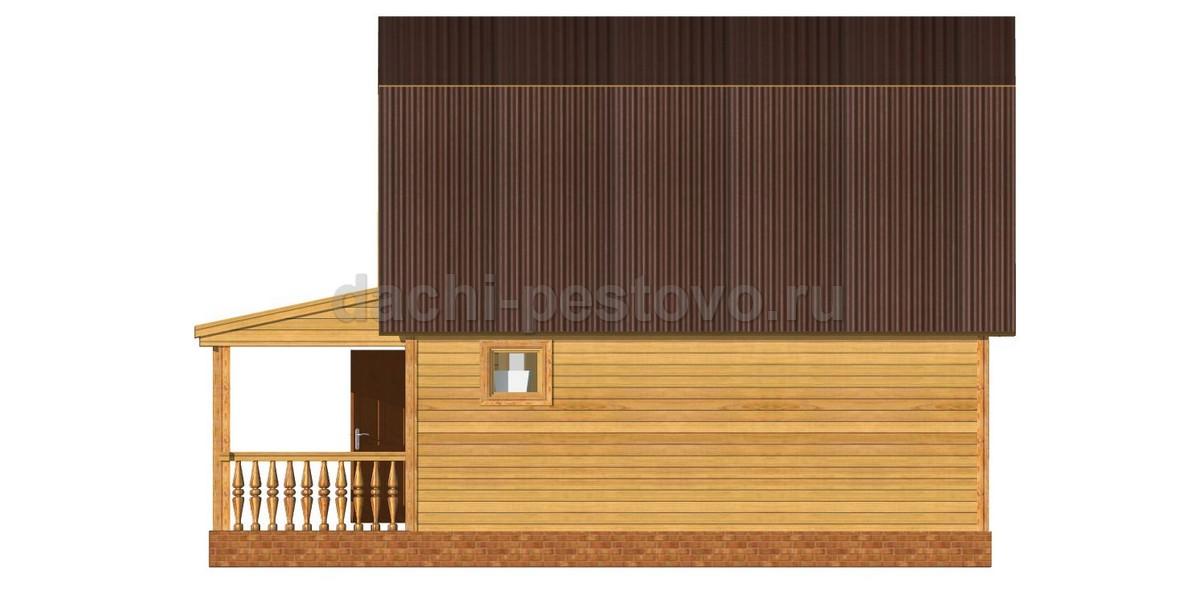 Каркасный дом №34 - Фото 3