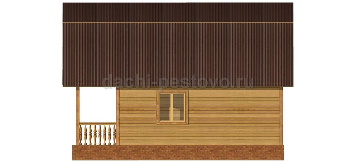 Каркасный дом №38 - Фото 3