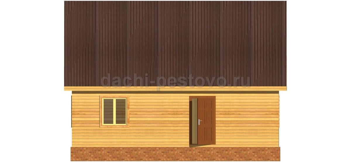 Каркасный дом №44 - Фото 3