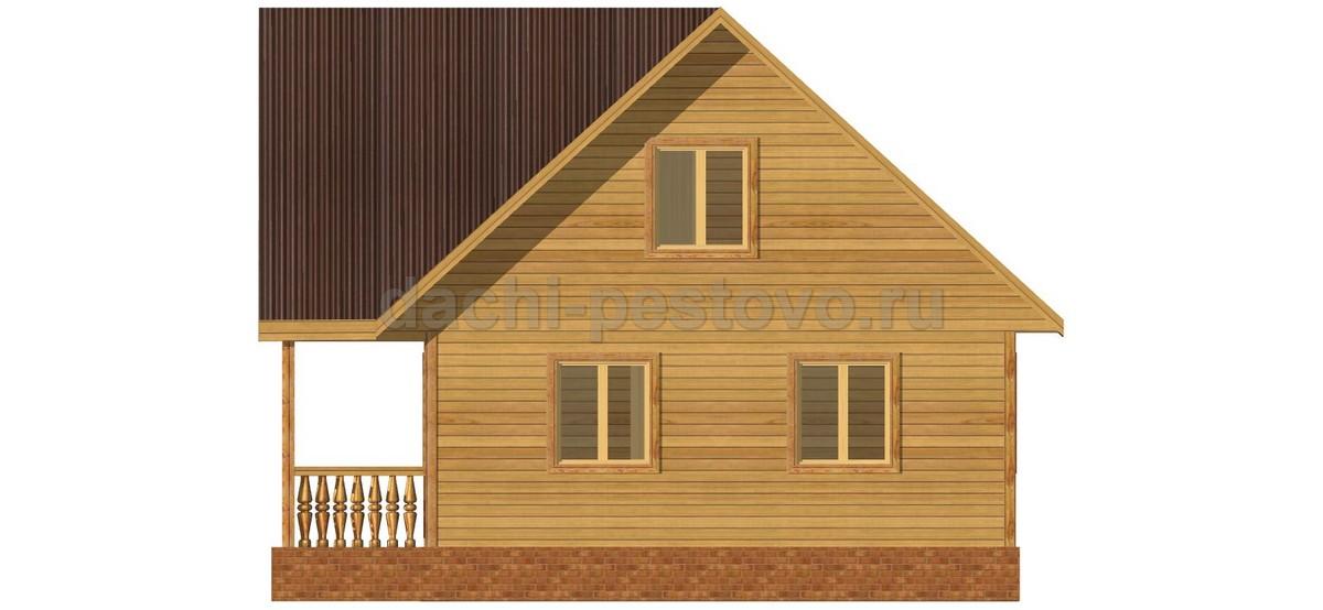 Каркасный дом №46 - Фото 3