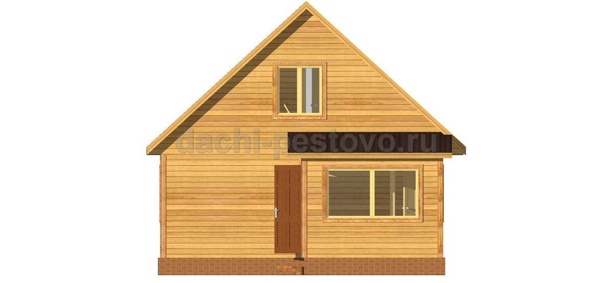 Каркасный дом №47 - Фото 3