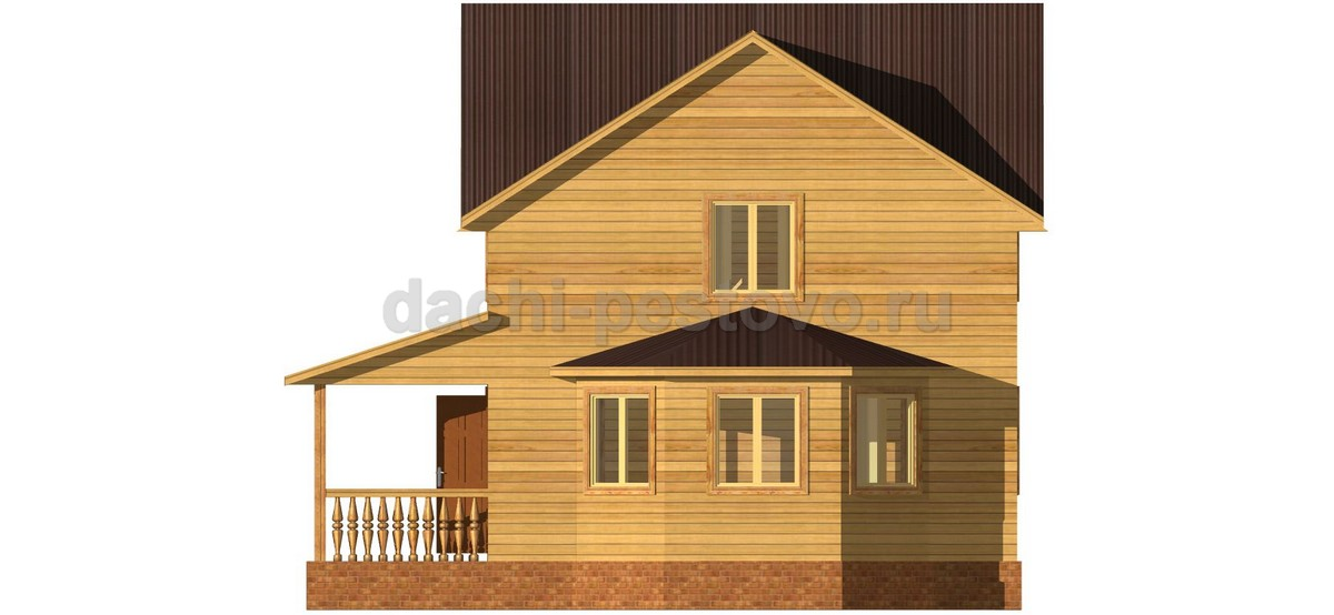 Каркасный дом №48 - Фото 3
