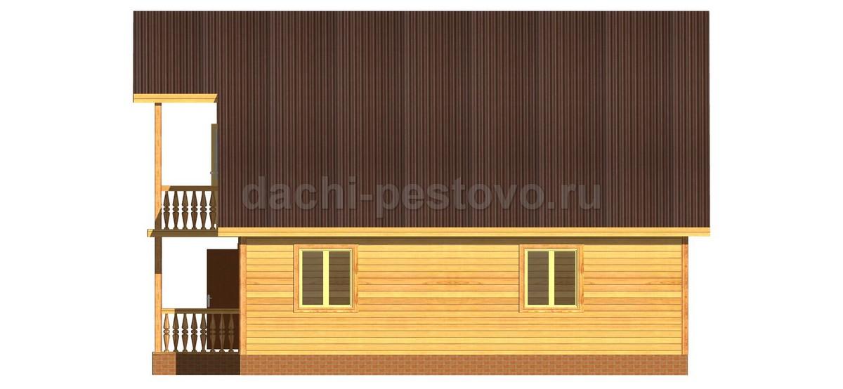 Каркасный дом №50 - Фото 3