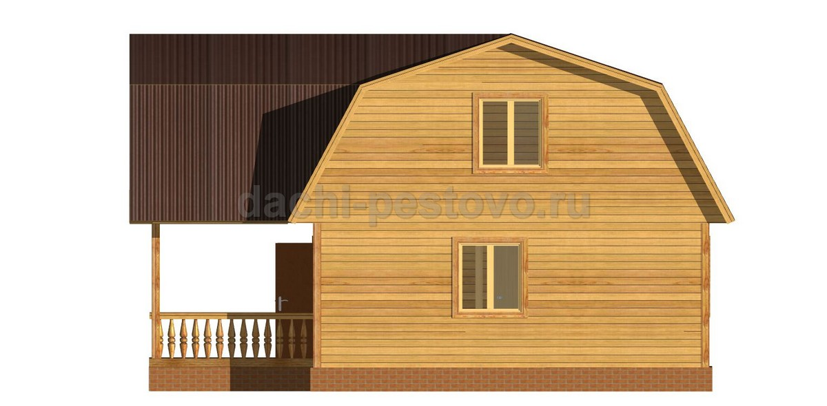 Брусовой дом №32 - Фото 3