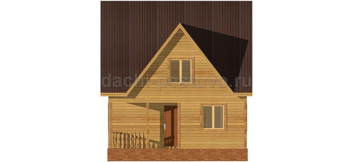 Каркасный дом №52 - Фото 3