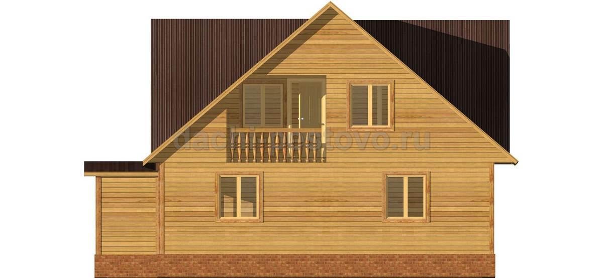 Каркасный дом №61 - Фото 3