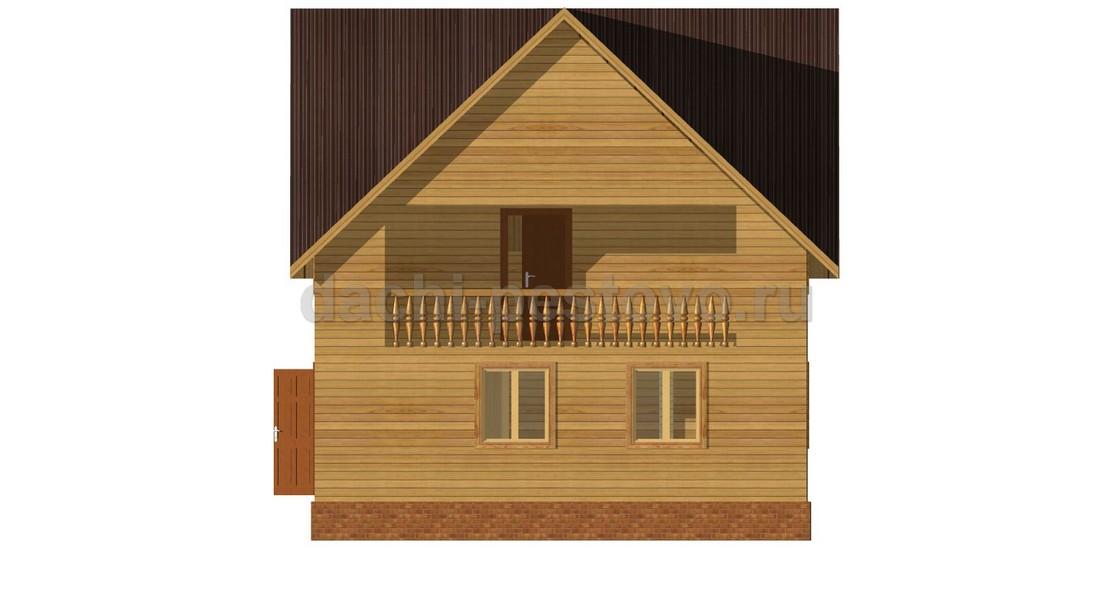 Каркасный дом №64 - Фото 3