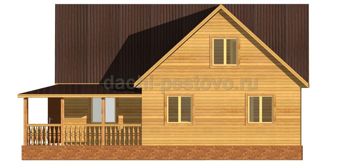 Каркасный дом №71 - Фото 3