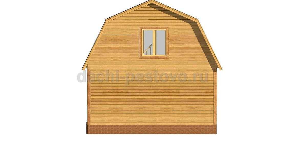 Брусовой дом №15 - Фото 3