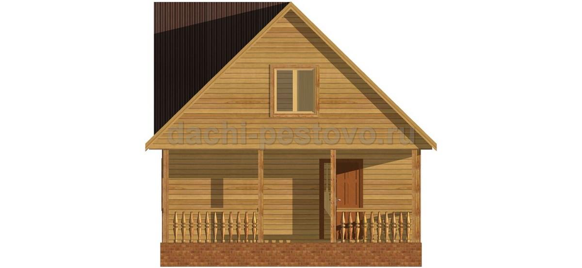 Брусовой дом №42 - Фото 3