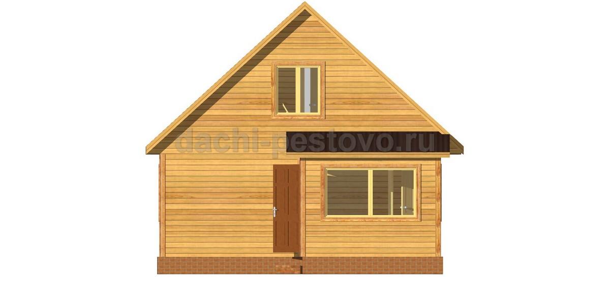 Брусовой дом №47 - Фото 3