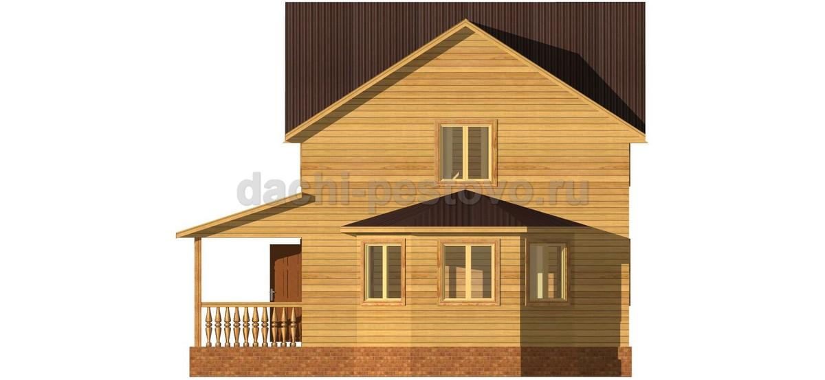 Брусовой дом №48 - Фото 3