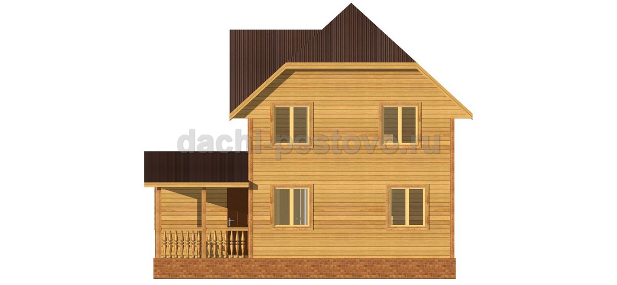 Брусовой дом №53 - Фото 3