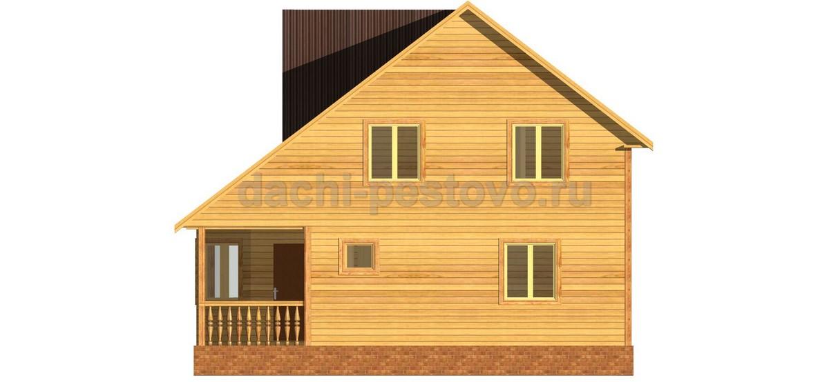 Брусовой дом №57 - Фото 3