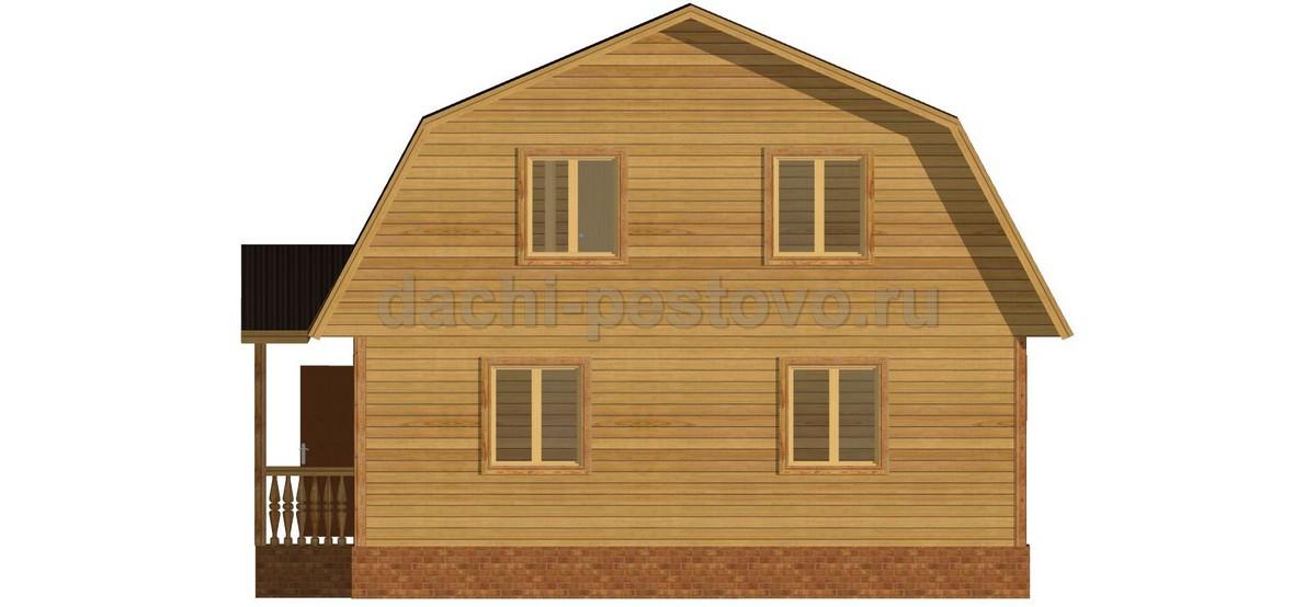 Брусовой дом №58 - Фото 3