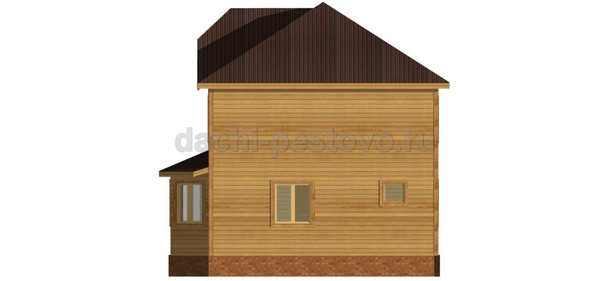 Брусовой дом №63 - Фото 3