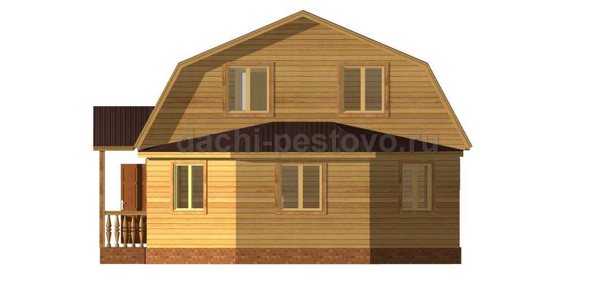 Брусовой дом №68 - Фото 3