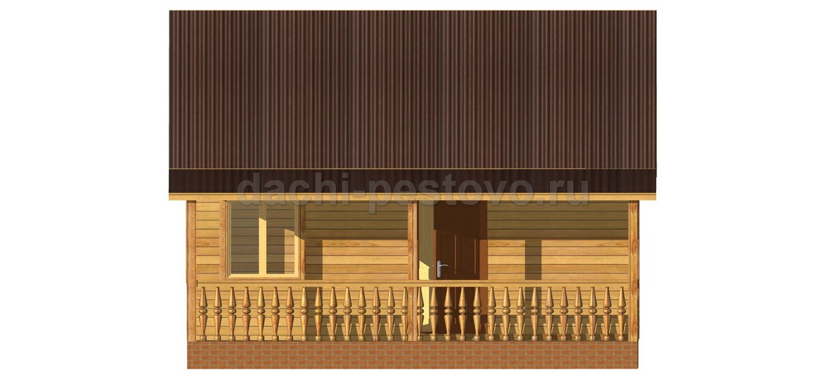 Брусовой дом №18 - Фото 3