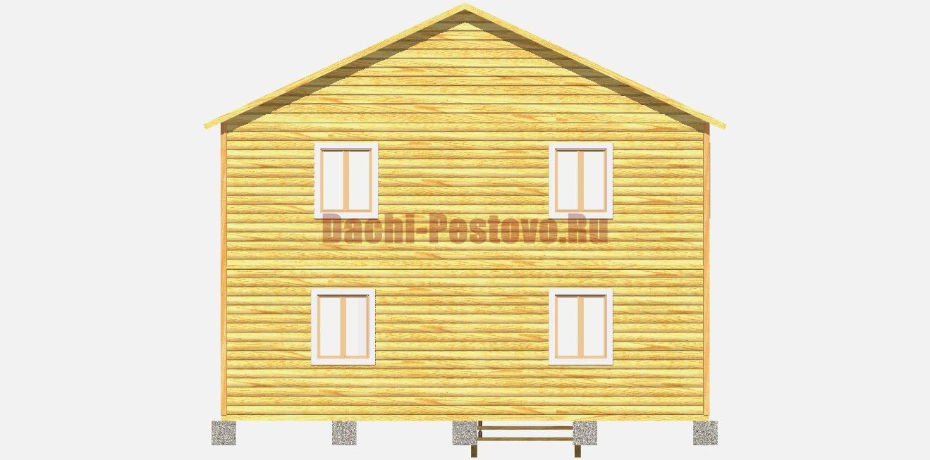 Каркасный дом №28 - Фото 4