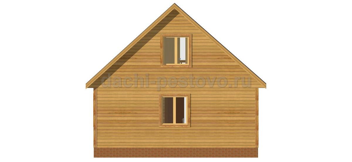 Брусовой дом №24 - Фото 4