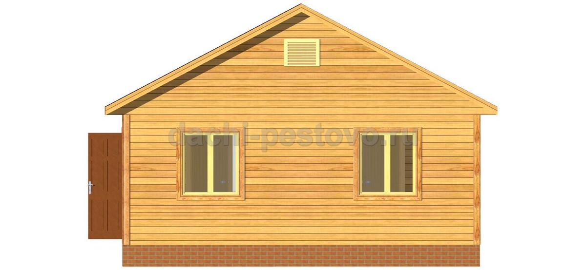 Каркасный дом №3 - Фото 4