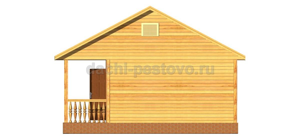 Каркасный дом №5 - Фото 4