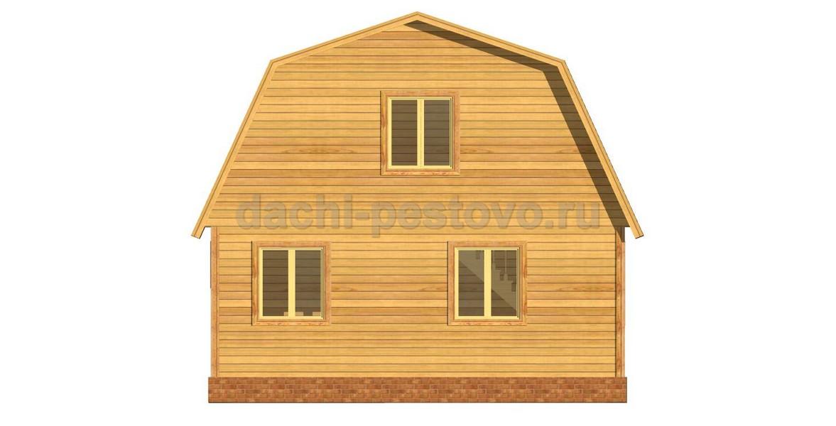 Каркасный дом №34 - Фото 4