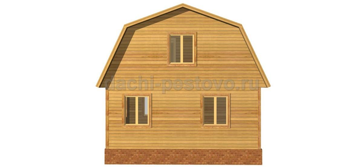 Каркасный дом №35 - Фото 4