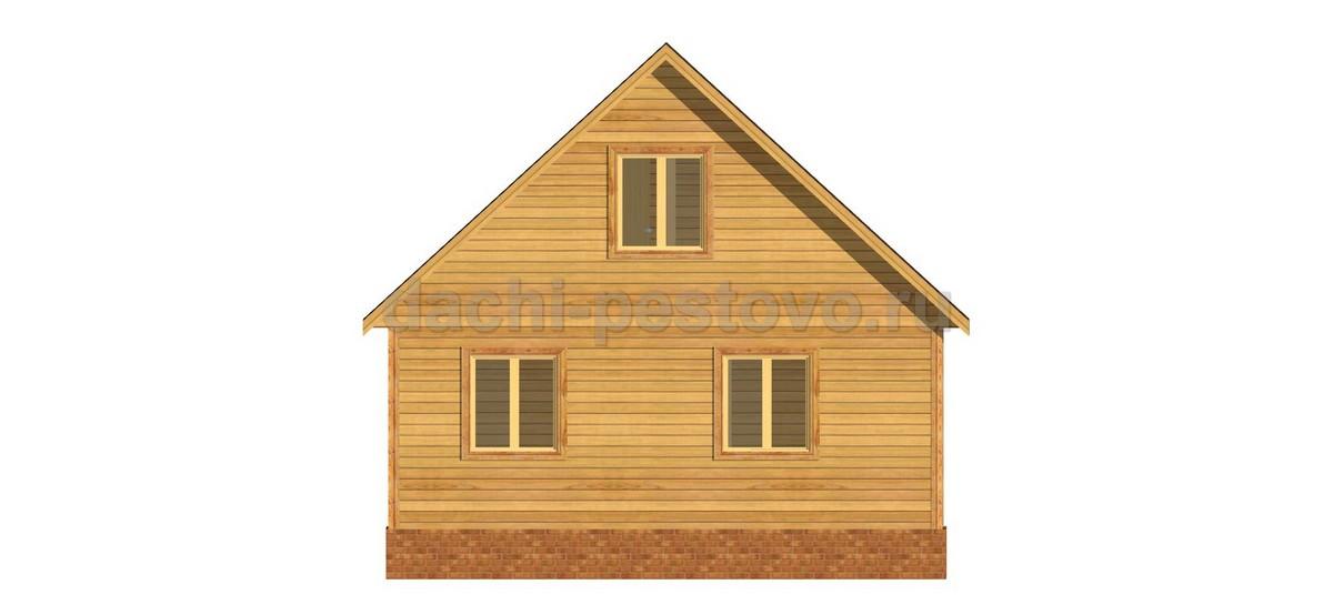 Каркасный дом №36 - Фото 4