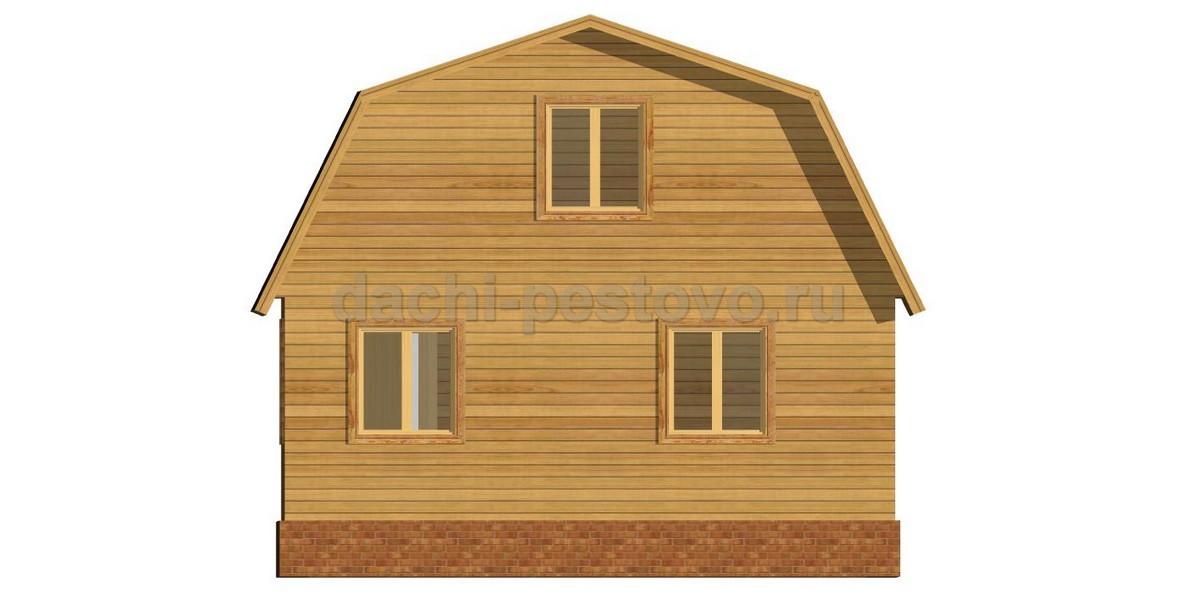 Каркасный дом №37 - Фото 4