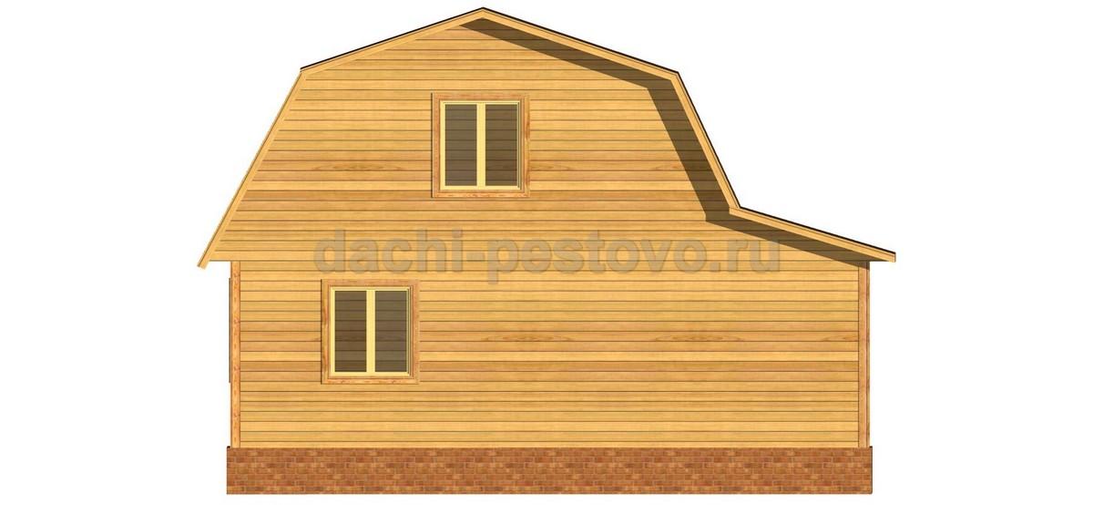 Каркасный дом №38 - Фото 4