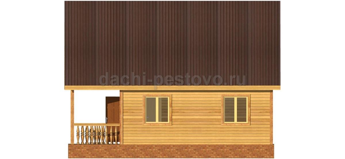 Каркасный дом №42 - Фото 4