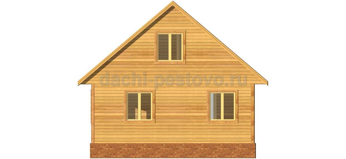 Каркасный дом №43 - Фото 4
