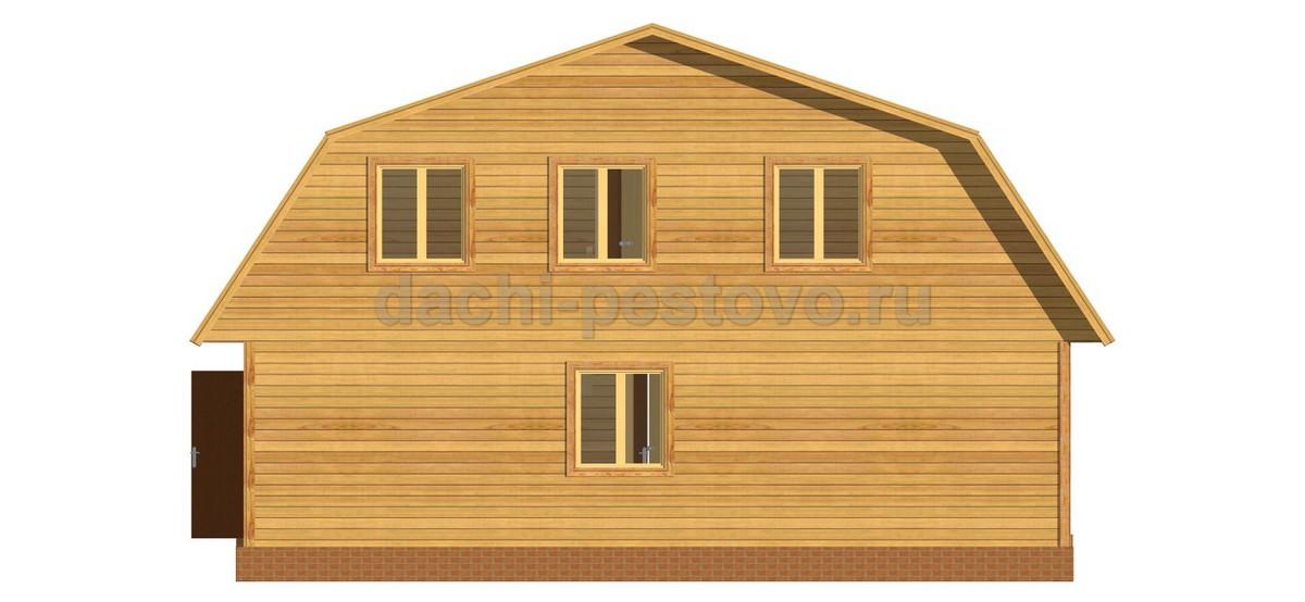 Каркасный дом №55 - Фото 4