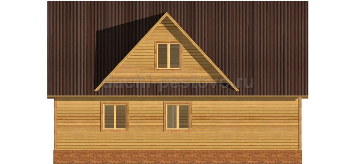 Каркасный дом №61 - Фото 4